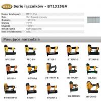 BOSTITCH SZTYFTY BT13 15mm 5000 szt.-451566