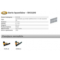 BOSTITCH GWOŹDZIE RH 3,1 x 65mm 21` 2000 szt.-451776