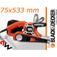 BLACK DECKER SZLIFIERKA TAŚMOWA 720W 75 x 533mm /KA88-462454
