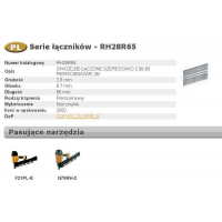 BOSTITCH GWOŹDZIE RH 2,8 x 65mm 21` RING 2000 szt.-492248